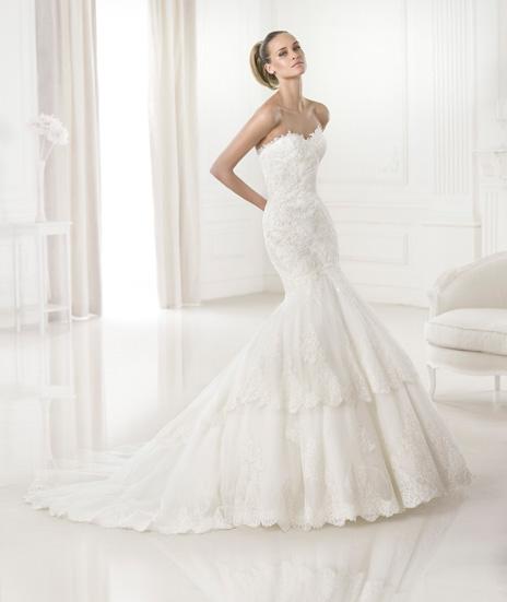 e3c02cfa57d6 PRONOVIAS 2015 - Barquilla. Svadobné šaty - model Barquilla svadobné šaty -  model Barquilla ...