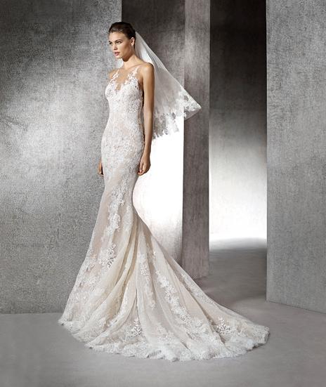 664b0339e156 Svadobné šaty - model Zada ...
